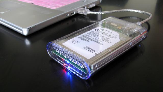 External HDD