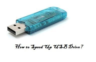 Speed up USB Drive