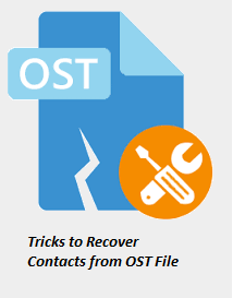 Efficient Tricks to Recover Contacts from Outlook OST File