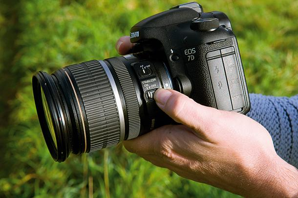 how to get dslr to record
