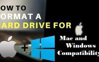 Format HDD for Mac and Windows