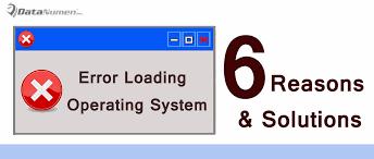 computer black screen error messages