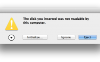 Fix Disk not Readable Mac