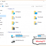 Fix HDD not showing up on Windows 10
