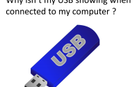 USB not connecting