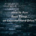 How to use Boot Camp on an external drive