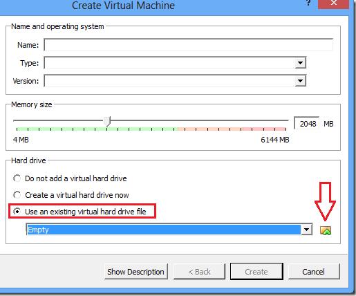 Use Bootcamp vmdk file