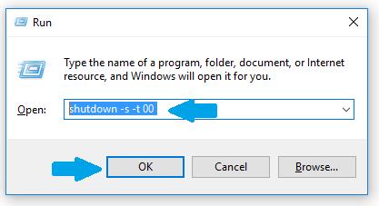 Run shutdown code
