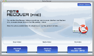 Mac OS X Recovery Software