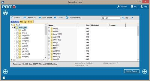 Recover Deleted Video Files from Memory Card - Preview of Recovered Data